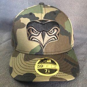 Camo Seattle Seahawks Hat